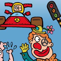 Dirk Van Bun Communicatie & Vormgeving - Illustraties - originele tekening - Kleurboekjes - op maat van uw activiteiten - Lommel