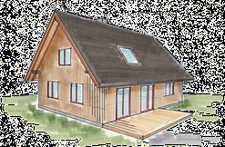 Hexenhaus von Treibholz