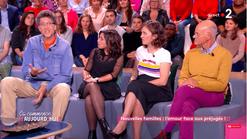 Tv France 2 interview Ca commence aujourd'hui  Faustine Bollaert