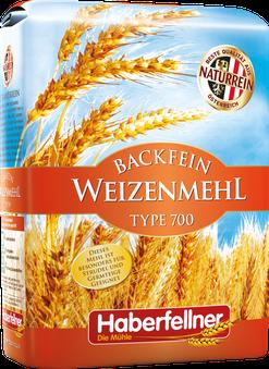 Haberfellner; Mehl; Weizenmehl; Typ 700; naturrein; pestizidfrei; Gentechnik