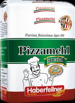 Haberfellner; Mehl, Pizza; Pizzamehl; Weizenmehl; Typ 00; Farina finissima tipo 00; naturrein; pestizidfrei; Gentechnik