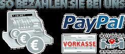 MERTEX-SHOP, Bezahlmethoden, PayPal, Sofortüberweisung, Kreditkarte, Vorkasse bei Abholung, Fotocollage
