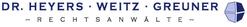 Logo Rechtsanwälte Dr. Heyers, Weitz, Gruner