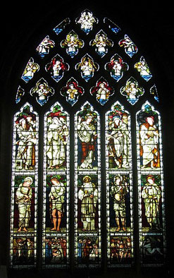 Burne Jones' south transept window