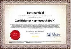 DVH HypnoCoach Kompetenznachweis