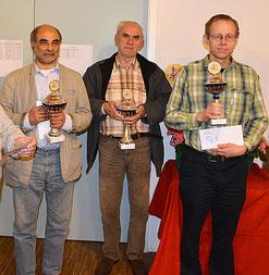 IM Ali Habibi (2), FM Vjekoslav Vulevic (1),  Daniel Portman (3)