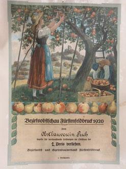 Preis für den Gartenbauverein Puch 1920