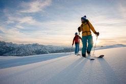 Winterprogramm carnicoalpin | Skitouren | Skibergsteigen | Hochtouren | Heliski