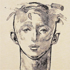 Face Study '02 (2002)        リトグラフ / 55.5x50.7cm