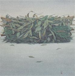 初秋 (2013)   混合技法 / 90×90cm