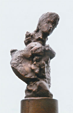 クリスティーヌ 15才       Bronze / 19.5x7.5x6.0cm