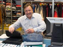 """Ralf Albat in seinem """"Reich"""", das er maßgeblich mitgestaltet hat. © Jobcenter EU-aktiv"""