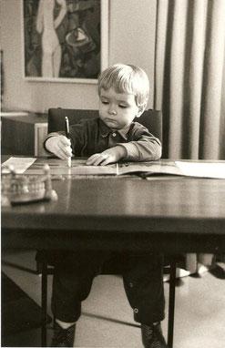 ...wie alles begann. Foto: Fritz Neuert, 1965