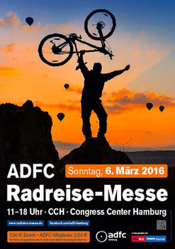 e-motion Hamburg: Besuchen Sie uns auf der ADFC Radreise-Messe