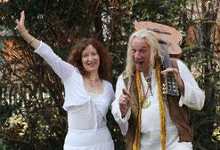 Eva Denk und Christopher Amrhein