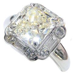 ダイヤリング プラチナ
