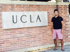名門大学UCLAへの入学を決めた