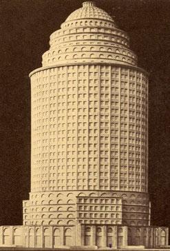Leipziger Messeturm (Entwurf 1920) - Warum nicht?