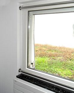 Fenstersicherung Edelstahl Wohnraum