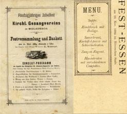 Stiftungsfest 1884