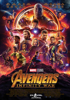 Avengers : Infinity War de Anthony Russo & Joe Russo -2018 / Fantastique