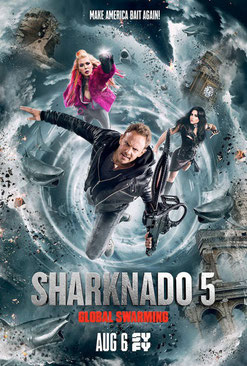 Sharknado 5 d'Anthony C. Ferrrante - 2017 / Science-Fiction _ Animal Tueur