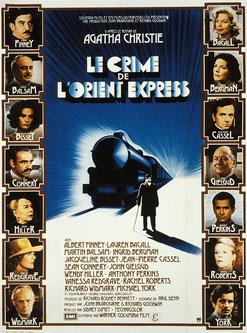 Le Crime de l'Orient-Express de Sidney Lumet - 1974 / Thriller