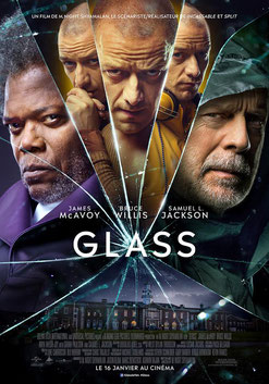 Glass de M. Night Shyamalan - 2019 / Thriller