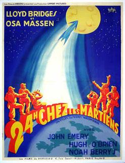 24 Heures Chez Les Martiens de Kurt Neumann - 1950 /Science-Fiction