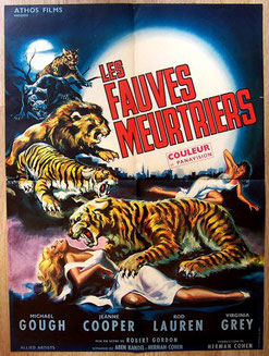 Les Fauves Meurtriers de Robert Gordon - 1963 / Horreur