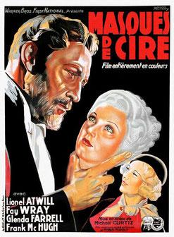 Masques de Cire de Michael Curtiz (1933)