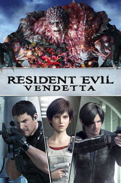 Resident Evil - Vendetta de Takanori Tsujimoto & Alexander Von David - 2017 / Animation - Horreur