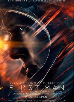 First Man - Le Premier Homme Sur La Lune de Damien Chazaelle - 2018 / Science-Fiction