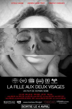 La Fille Aux Deux Visages de Romain Serir - 2016 / Horreur