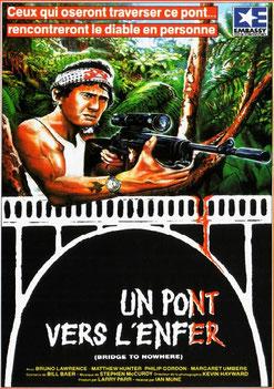 Un Pont Vers l'Enfer de Ian Mune - 1986 / Survival - Horreur