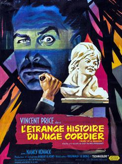 L'Étrange Histoire Du Juge Cordier de Reginald Le Borg - 1963 / Horreur