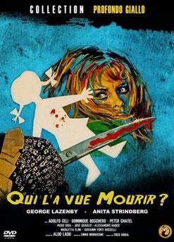 Qui l'a Vue Mourir ? de Aldo Lado - 1972 / Horreur - Giallo