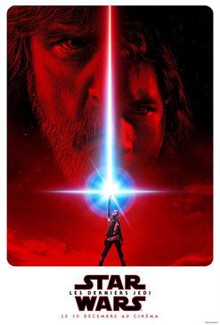 Star Wars : Episode 8 - Les Derniers Jedi de Rian Johnson - 2017 / Fantastique