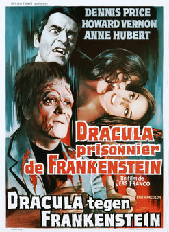 Dracula Prisonnier De Frankenstein de Jesus Franco - 1972 / Horreur