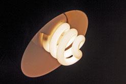 ampoule fluocompacte, lampe à économie d'énergie