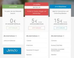 Jimdo Webseiten aus Dresden