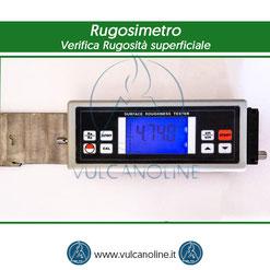 Rugosimetro utilizzato per la verifica della rugosità superficiale del pezzo a seguito di sabbiatura