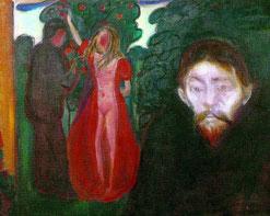 Eward Munch, Die Eifersucht 1895