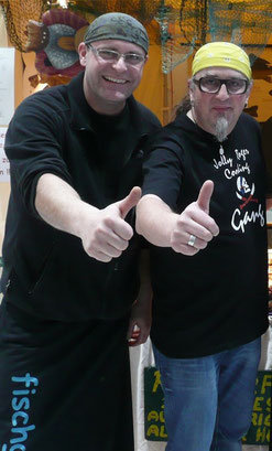 Starkock Stefam Marquard mit fischgenuss Chef Andreas Nägler