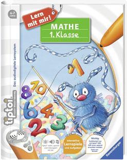 Ravensburger tiptoi Buch   Mathe 1. Klasse Lern-Spiel-Abenteuer + ABC Buchstaben Lernen - Poster, Tip TOI, Schule, Mathematik, rechnen, Grundschule