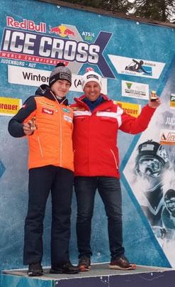 Am Bild das erfolgreiche Doppelsitzer-Duo Dominik Maier mit Christoph Knauder (Fotos: RC Mondi Frantschach)