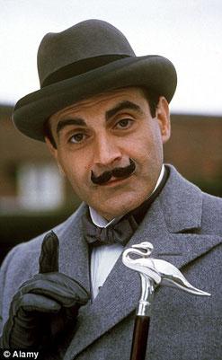 David Suchet fent de Poirot