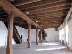 Saal im Palas der Nürnberger Kaiserburg