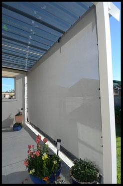 Manual Outdoor Mesh Blind