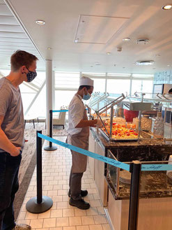 Mein Schiff 2 Buffetrestaurant